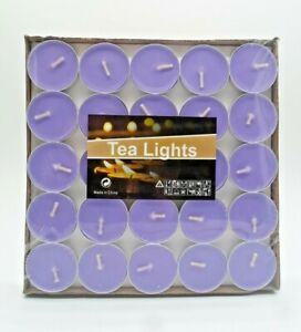 50pc Tea Night Lights Candle Light Tea Holder Wedding Tea Candel 1.5 Hour Burn