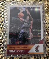 2017-18 NBA HOOPS SHAQUILLE O'NEAL SHAQ NBA2K18 REFRACTOR INSERT CARD HEAT
