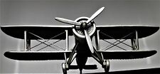 Aircraft Airplane Military Model Diecast Armor WW1 Vintage 1 48 Carousel Pewter