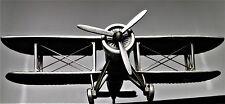 WW1 Military Aircraft B Biplane 1 Airplane Air P Plane 17 Vintage 51 Metal 48