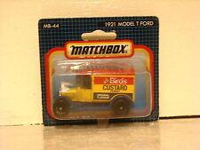 Matchbox Superfast Ford Model T 1921 Birds Custard MB 44