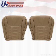 96 -02 Toyota 4Runner Front Left & Right Bottom Leather Seat OEM Replacement Tan