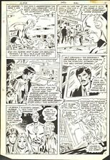 1980 THE FLASH #292 PAGE 11 COMIC ORIGINAL ART BY DON HECK NO RESERVE
