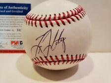 NY Yankees Tino Martinez Signed OML Baseball- PSA Certified