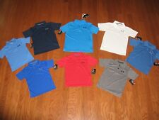 UNDER ARMOUR SHORT SLEEVE POLO SHIRT BOYS SIZE 4 / 5 / 6 / 7 / YSM / YLG  NWT