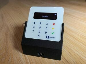 Stand For SumUp Air Card Terminal with Cable Cutout in Galaxy Black Colour