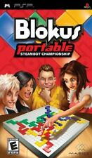 BLOKUS PORTABLE - STEAMBOT CHAMPIONSHIP Sony Playstation PSP New box abit old