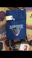 University of Maine BLACK BEARS Cart Cooler NEW Picnic Time Warranty