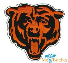 """Chicago Bears BIG  4"""" Iron On Embroidered Patch US Seller FREE Shipping"""