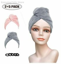 Shower Caps Quick Dry Hair Towels Hair Towel Wraps Hat Absorbent Soft Wet Bands