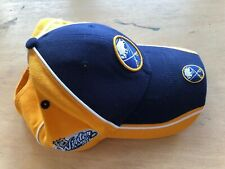 NEW ERA BUFFALO SABRES vs PENGUINS 2008 WINTER CLASSIC NHL BASEBALL HAT CAP OSFA