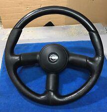 Opel Corsa B GSI Steering Wheel / Vauxhall Lenkrad BAD LEATHER 6390013 Rare