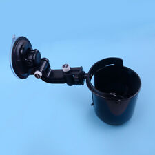 Black Car Window Adjustable Suction Cup Mount Drink Beverage Bottle Holder ld