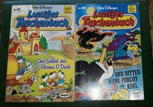 2 Tb - -Lustiges Taschenbücher - Walt Disney - Nr. 163 , 203 - Ehapa Verlag