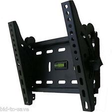 "Tilt TV Monitor LCD LED VESA Wall Mount Bracket 22 23 26 27 30 32 36 37 40 42"""