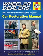 HAYNES WHEELER DEALERS MANUAL 2003 ONWARDS 10 CAR RESTORATION DISCOVERY H5798