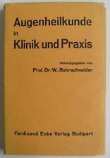 Occhi scienza medica in ospedale e pratica, 1958, fortbildun (233/14059)