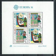 "Portugal Bloc N°33** (MNH) 1981 - Europa ""Le Folklore"""
