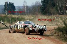 Walter Rohrl Lancia Stratos HF ganador Hunsruck Rally 1978 fotografía 1