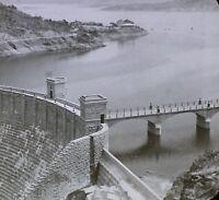 The Roosevelt Dam Near Phoenix, Arizona, Magic Lantern Glass Slide, Circa 1910's