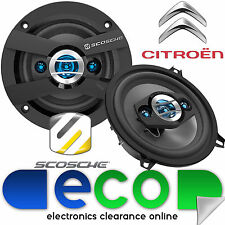 Citroen C3 02-14 SCOSCHE 13cm 320 Watts 4 Way Front Door Car Speakers