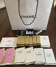 18 piece Chanel lot: Sublimage La Creme; le lift, eye cream, exclusifs edp