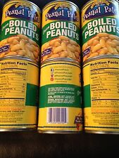 Margaret Holmes, Green Boiled Peanuts, 13.5oz Cans Pack of 6