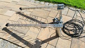 Wittenberg Antennen Duo Set 2x LAT 22 Richtantenne LTE 800 zB. für Speedport Hyb