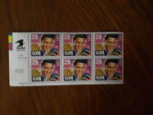 ELVIS PRESLEY 1993 USPS Commemorative Stamps-Mint Sheet of 6 29cent
