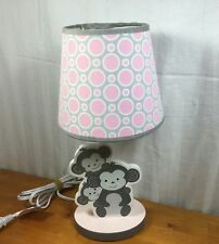 Lambs And Ivy Bedtime Originals Pinkie Lamp With Shade And Bulb Fastest Shipper