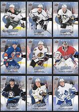 U PICK EM LOT 16-17 2016-17 Upper Deck MVP RC SP cards #276-299 Nylander Mantha