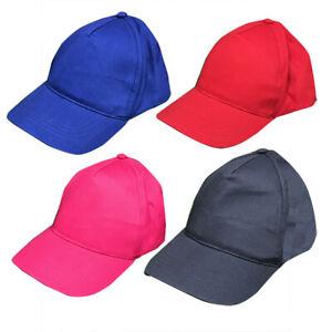 Kids Cap Size Age 5-8 Years / 54 cm Boys Girls Summer Sun Hat