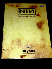 NINE INCH NAILS NIN Limited Collectors Edition ULTRARARE DVD Manson Rammstein