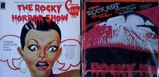 ROCKY HORROR SHOW - ORIG. AUSTRALIAN CAST - ELEPHANT LP + ROCKY HORROR TAPESTRY