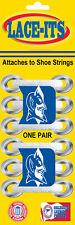 "Duke Blue Devil ""logo"" Shoe Lace Accessory (Logo attaches to shoe strings)"