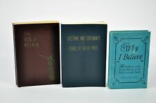 LOT - The Book of Mormon DOCTRINE & COVENANTS (Missionary Edition) Why I Believe