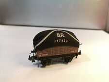 Trix TTR OO/HO - 662 BR 12T Tarpaulin Wagon - N183724 - vgc c1958