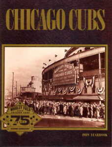 Chicago Cubs 1989 Official MLB Yearbook Wrigley Field (FREE SHIPPING)