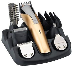 Haarschneidemaschine Haarschneider Rasierer 11in1 Ohren Bart Nasen Trimmer Braun