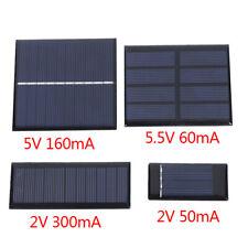 Min Solar Panel  2V  5V 5.5V 50MA 60MA 160MA 300MA Solar Cell DIY Solar Charg SE