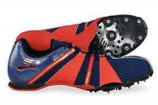 BROOKS SURGE MD MEN'S RUNNING SPIKES / SHOES COBALT BLUE / RED SIZE 15 U.S. NIB