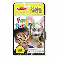 Melissa And Doug On The Go Face Painting Craft Activity Set NEW Toys