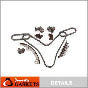 Fit 01-04 Nissan Pathfinder Infiniti QX4 3.5L DOHC Timing Chain Kit VQ35DE