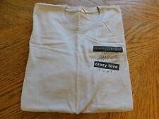 """MICHAEL BUBLE """"Crazy Love"""" Concert Tour Local Crew T-Shirt Size XL"""