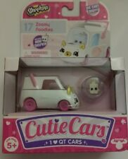 New Hot! Shopkins Cutie Cars, #17 Zoomy Noodles, with Mini Shopkin No Side Decal