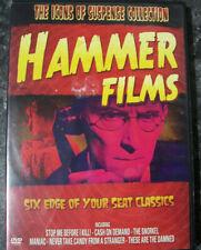 HAMMER HORROR FILMS - MANIAC / SNORKEL / CASH ON DEMAND + DVD