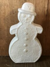 Union Don Featherstone Christmas Gingerbread Snowman Blow Mold Unused