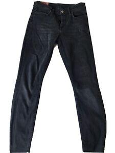 Acne Climb black skinny jeans size 27