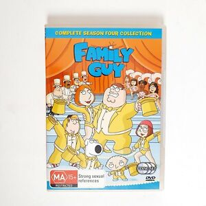Family Guy Season 4 DVD TV Series Free Postage Region 4 AUS - Comedy Animation