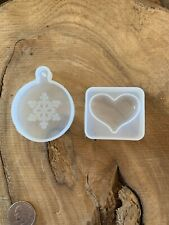 Silicone Mold For Resin/ Diy Crafts/ Heart/ Ornament/ Free Gift